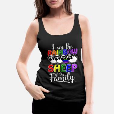 Pride Rainbow Sheep - Gay Pride - Vrouwen premium tank top