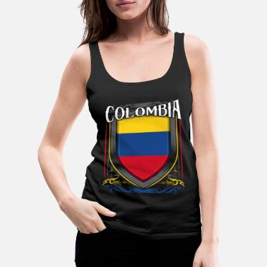 Colombia Colombia - Women's Premium Tank Top