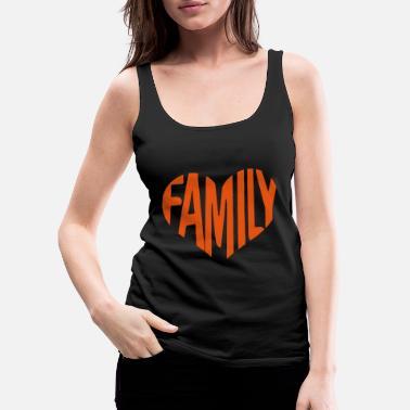 8418ac25 Family Holiday Family Heart .Family Holiday Gifts - Women's Premium Tank