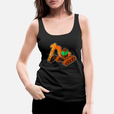 Shovel shovel - Women's Premium Tank Top