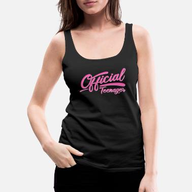 Officiel teenager pige - Premium tanktop dame