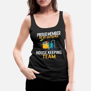 Housekeeping International Housekeepers Week 2020 Proud Member - Women's Premium Tank Top