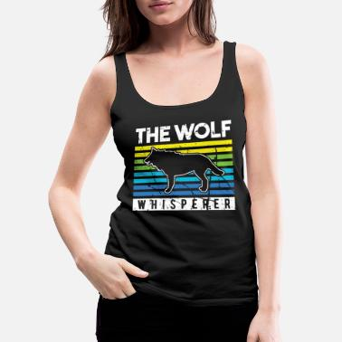 Moon Wolf pack pact claw forest - Women's Premium Tank Top