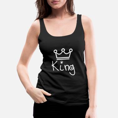 Los Angeles King oft the world #LOL #FUNNY - Frauen Premium Tanktop