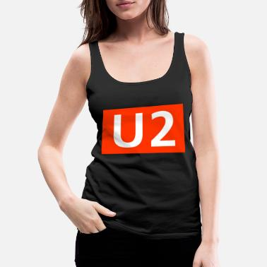 Subway line 2 Berlin - Women's Premium Tank Top