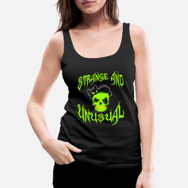 Attractive Creepy yet attractive tee design made for you!  - Women's Premium Tank Top