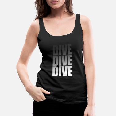 Scuba dive - Women's Premium Tank Top