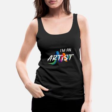 Painter Artists - Women's Premium Tank Top