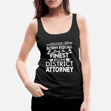 District District Attorney Proud District Attorney - Women's Premium Tank Top