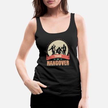 Bar Hop JGA - Team Hangover - Women's Premium Tank Top