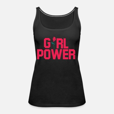Girl Power Girl Power. Girl power Gifts. - Women's Premium Tank Top