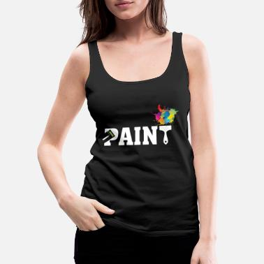 Painter Paint - Premium singlet for kvinner