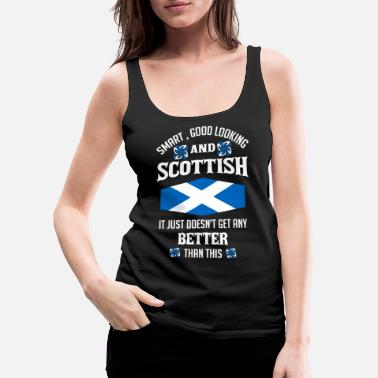 Highland Games Scottish Wise And Good Loogin, Scotland - Women's Premium Tank Top