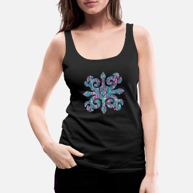 Ancient Caucasian ornament 6 e 216 - Women's Premium Tank Top