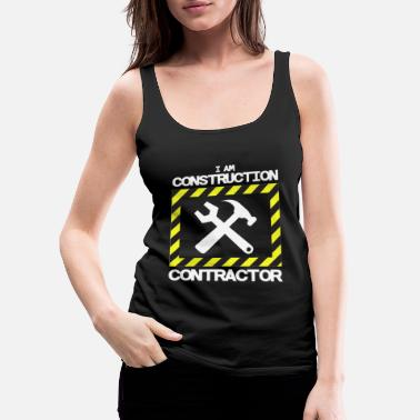 Road Construction road construction - Women's Premium Tank Top