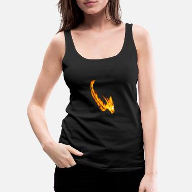 Fire Dragon fire Dragon - Women's Premium Tank Top