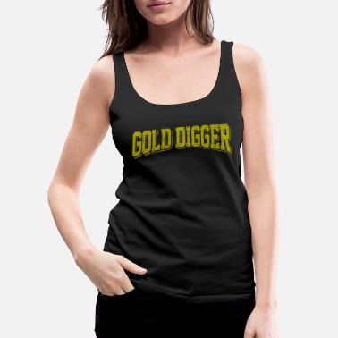 Gold Goldgraeber - Women's Premium Tank Top