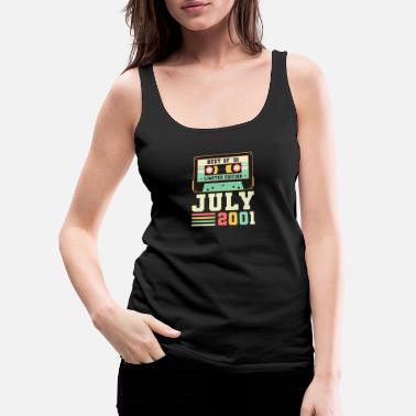 20th Birthday 20th Birthday Gift July 2001 20 Years - Women's Premium Tank Top