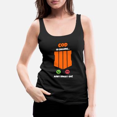 Assault Rifle CoD is calling and I must go call Duty Gift - Women's Premium Tank Top