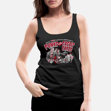 Movie Punks with Credit Cards - Women's Premium Tank Top