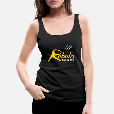 Rebels Martial Arts - Women's Premium Tank Top