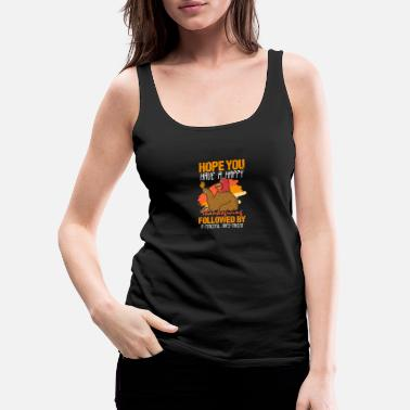 Coffee Drinkers Thanksgiving Thanksgiving Harvest Fall Gift - Women's Premium Tank Top