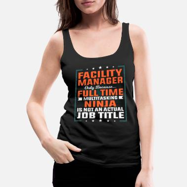 Plant Facility manager profession employee gift idea - Women's Premium Tank Top