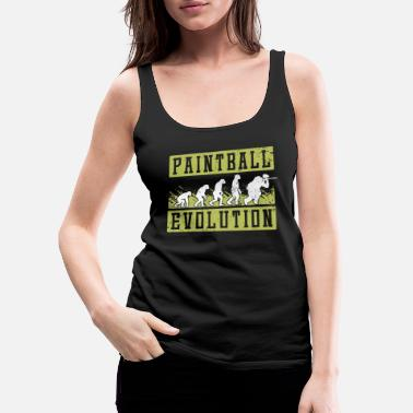 Shot Paintball evolution - Women's Premium Tank Top