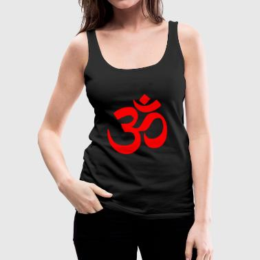 om red - Women's Premium Tank Top