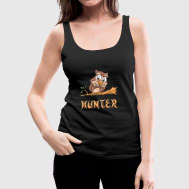 Sowa Hunter - Tank top damski Premium