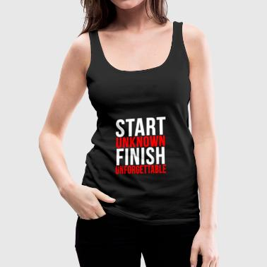 Sport Fitness Career Lifestyle Gift - Women's Premium Tank Top