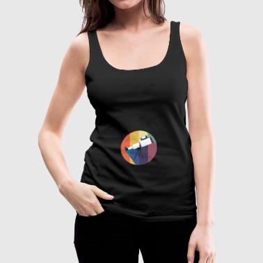 Vintage gift for Astronomy Lovers - Women's Premium Tank Top