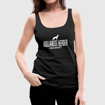 HOLLAND HERDER what else - Women's Premium Tank Top