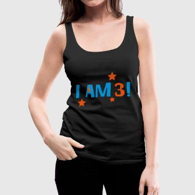 2541614 16041148 i am 3 - Women's Premium Tank Top