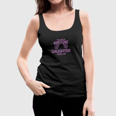 Son and Daughter Day - Women's Premium Tank Top