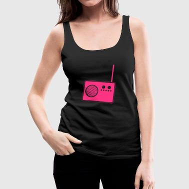 Radio - Frauen Premium Tank Top