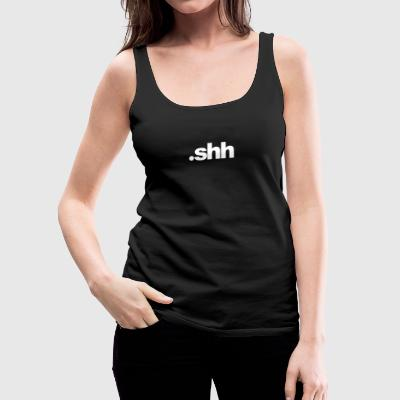 Dot shh - Women's Premium Tank Top