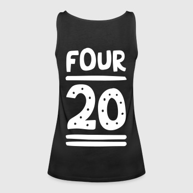 FOUR TWENTY - Frauen Premium Tank Top