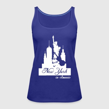 New York is classic USA Klassik Musik Fun Geschenk - Frauen Premium Tank Top