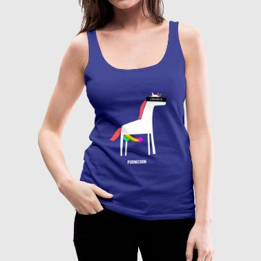 Pornicorn / Funny / Provocative - Women's Premium Tank Top