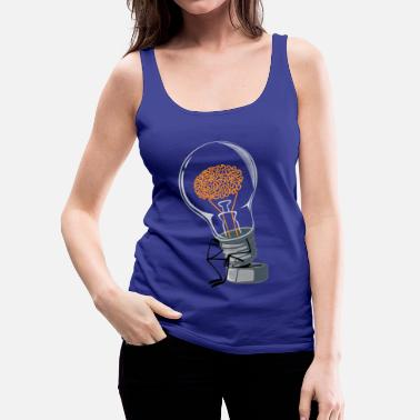 Funny Collection the Thinker - Women's Premium Tank Top
