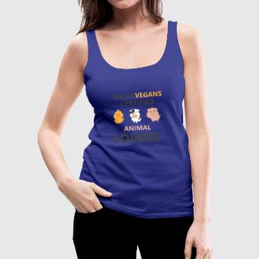 Animal Welfare Vegan Animals vegetarian Healthy Eating - Women's Premium Tank Top