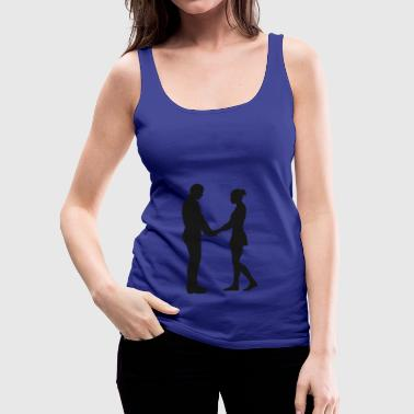 hand in hand - Women's Premium Tank Top