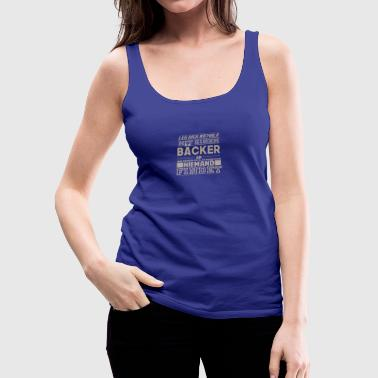 baker - Women's Premium Tank Top