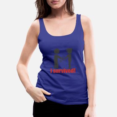 Studying ends graduation promotion gift idea - Women's Premium Tank Top