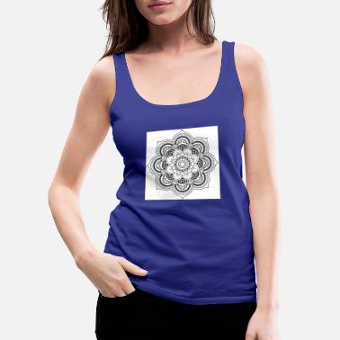 Mandala flower - Women's Premium Tank Top