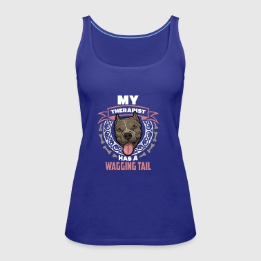 Dog Therapist Gift T-shirt - Frauen Premium Tank Top