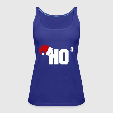 ho ho ho christmas design - Women's Premium Tank Top