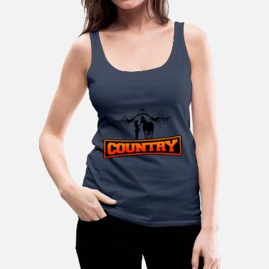 Country country - Women's Premium Tank Top