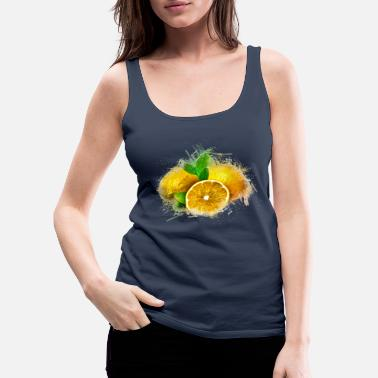 lemon - Women's Premium Tank Top